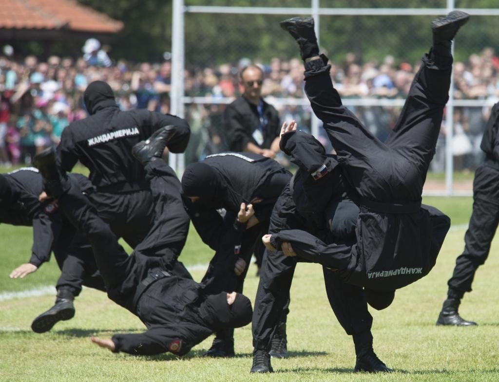 ŽABALJ: U petak taktičko-pokazna vežba Žandarmerije i čas samoodbrane u parku
