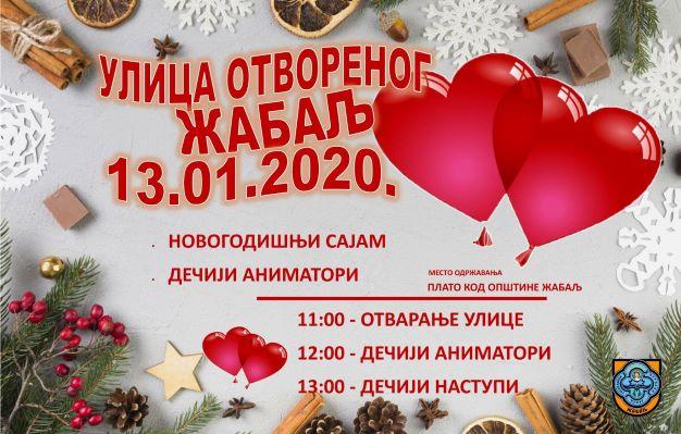 """ŽABALJ: Pravoslavna Nova godina u """"Ulici otvorenog srca"""""""