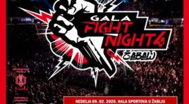 """Gala fight night 4"" 9. februara u Žablju"