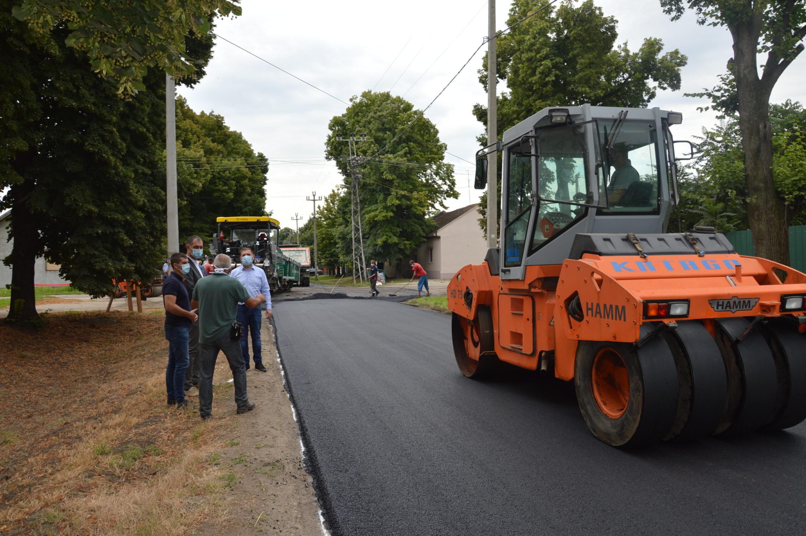 Započeta rekonstrukcija putne mreže u opštini Žabalj