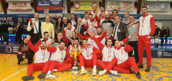 Odbojkaši Vojvodine osvojili Superkup