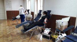 ČURUG: Uspešno realizovana akcija dobrovoljnog davanja krvi