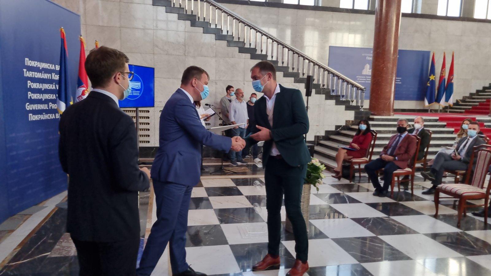 """Potpisan sporazum između Opštine Žabalj i Fonda """"Evropski poslovi"""""""